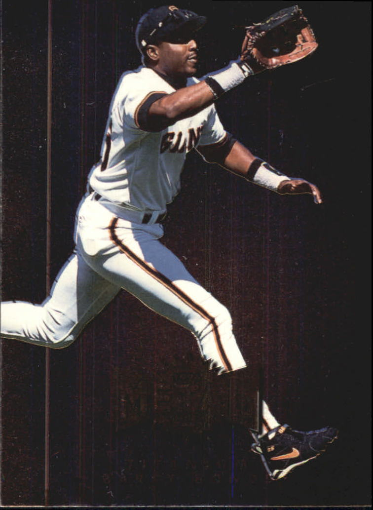 1996 Metal Universe Titanium #2 Barry Bonds