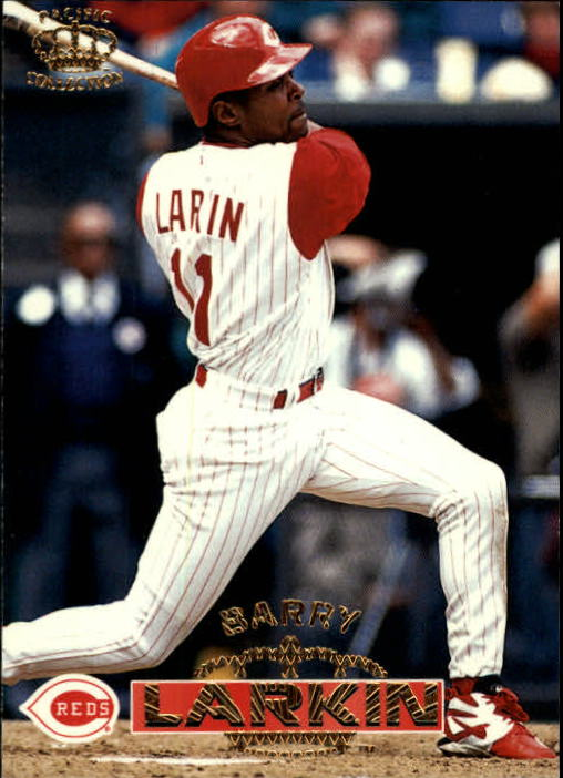 1996 Pacific #40 Barry Larkin
