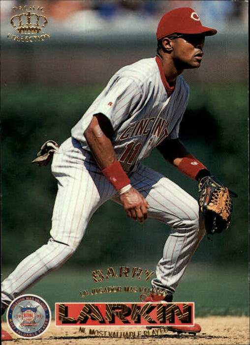 1996 Pacific #50 Barry Larkin MVP