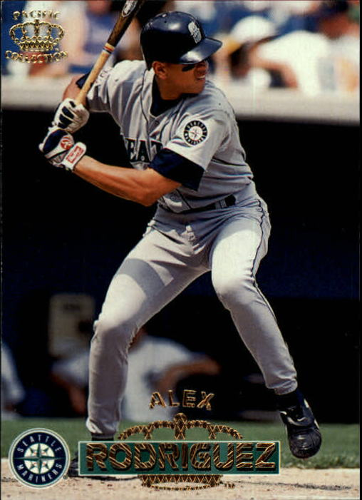 1996 Pacific #416 Alex Rodriguez