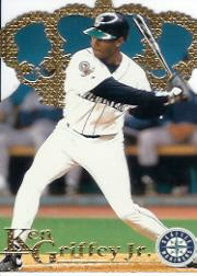 1996 Pacific Gold Crown Die Cuts #DC13 Ken Griffey Jr.