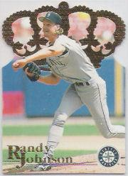1996 Pacific Gold Crown Die Cuts #DC33 Randy Johnson