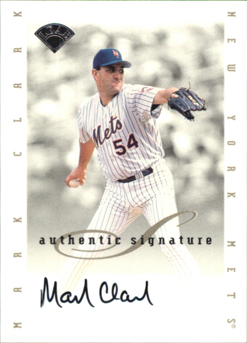 1996 Leaf Signature Extended Autographs #30 Mark Clark