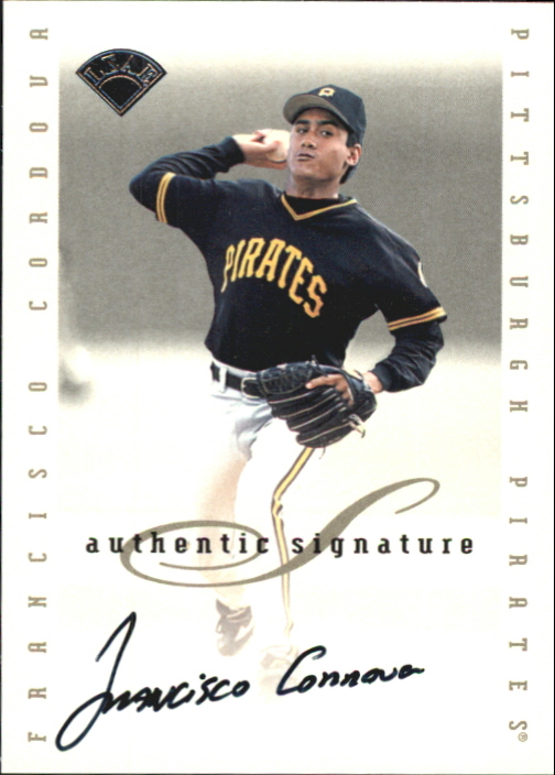 1996 Leaf Signature Extended Autographs #35 Francisco Cordova