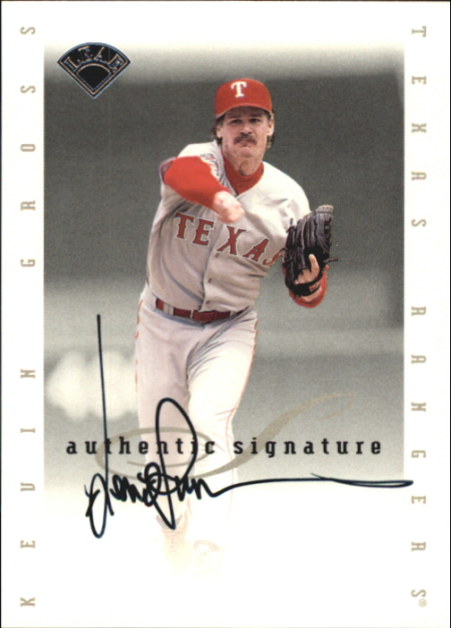 1996 Leaf Signature Extended Autographs #64 Kevin Gross