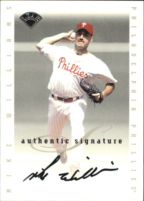 1996 Leaf Signature Extended Autographs #215 Mike Williams