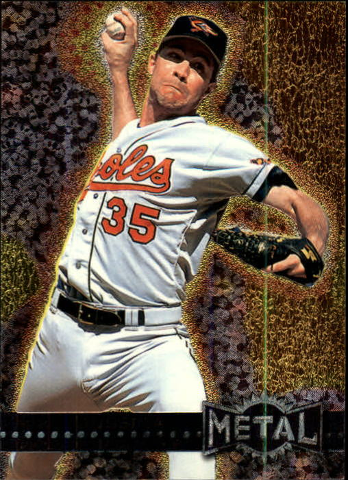 1996 Metal Universe #6 Mike Mussina