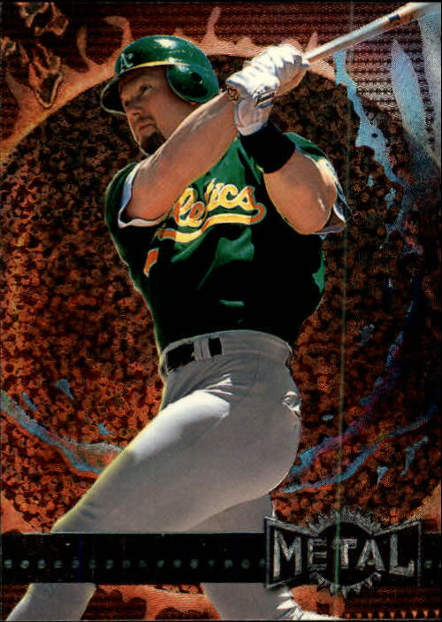 1996 Metal Universe #101 Mark McGwire