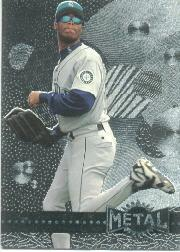 1996 Metal Universe Platinum #107 Ken Griffey Jr.