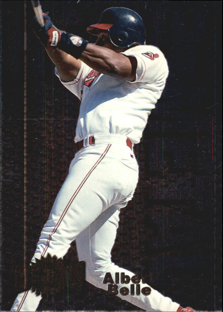 1996 Metal Universe Heavy Metal #1 Albert Belle