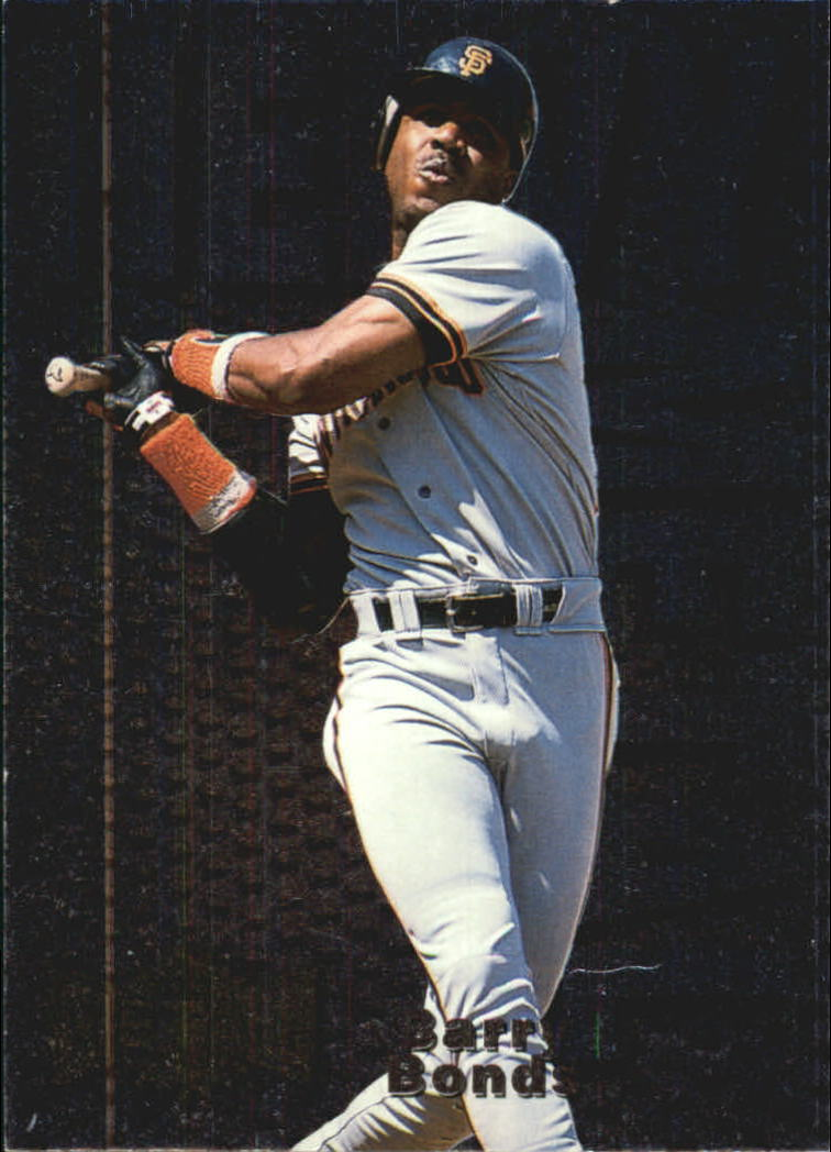 1996 Metal Universe Heavy Metal #2 Barry Bonds
