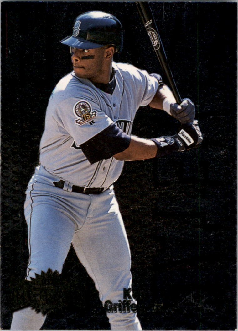 1996 Metal Universe Heavy Metal #4 Ken Griffey Jr.