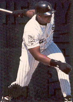 1996 Metal Universe Heavy Metal #8 Frank Thomas