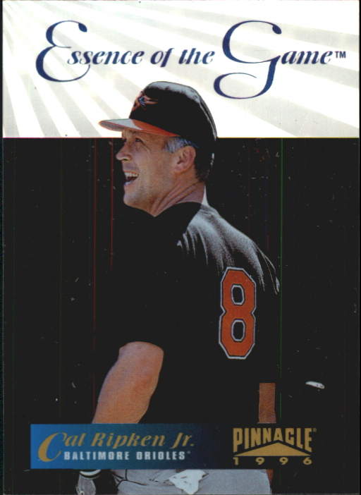 1996 Pinnacle Essence of the Game #1 Cal Ripken