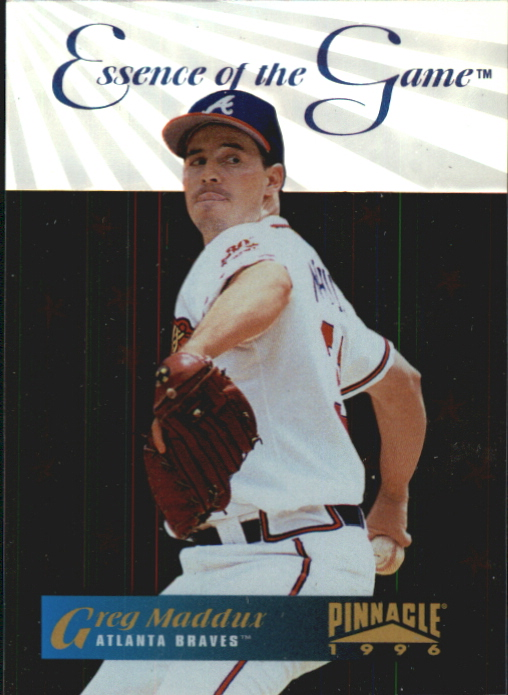 1996 Pinnacle Essence of the Game #2 Greg Maddux