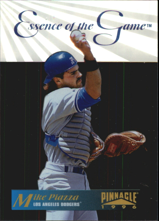 1996 Pinnacle Essence of the Game #10 Mike Piazza
