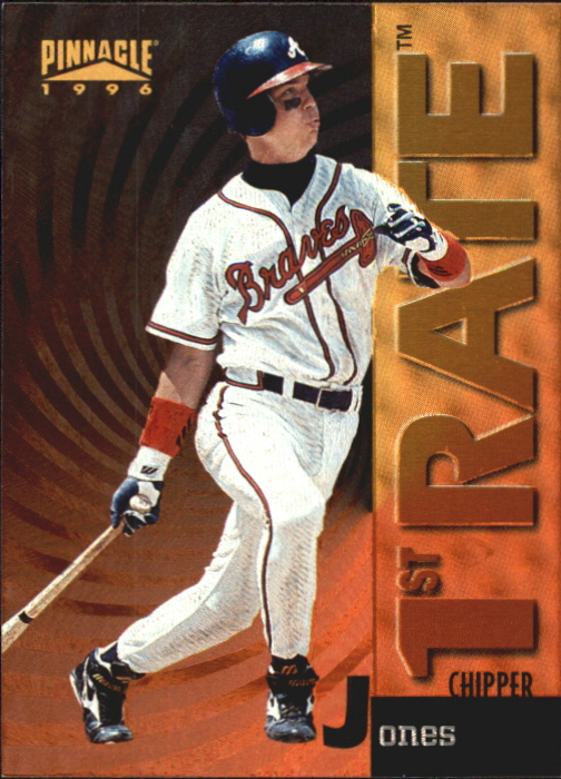 1996 Pinnacle First Rate #4 Chipper Jones