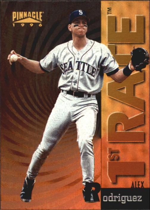1996 Pinnacle First Rate #5 Alex Rodriguez