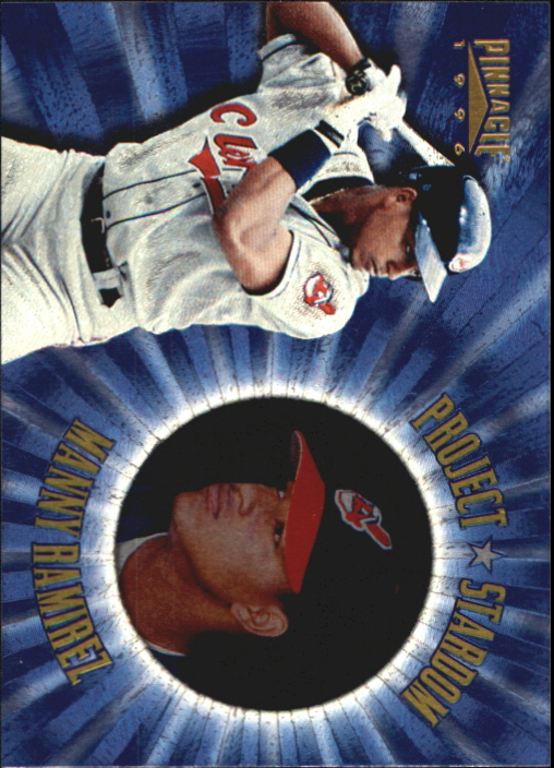 1996 Pinnacle Project Stardom #14 Manny Ramirez