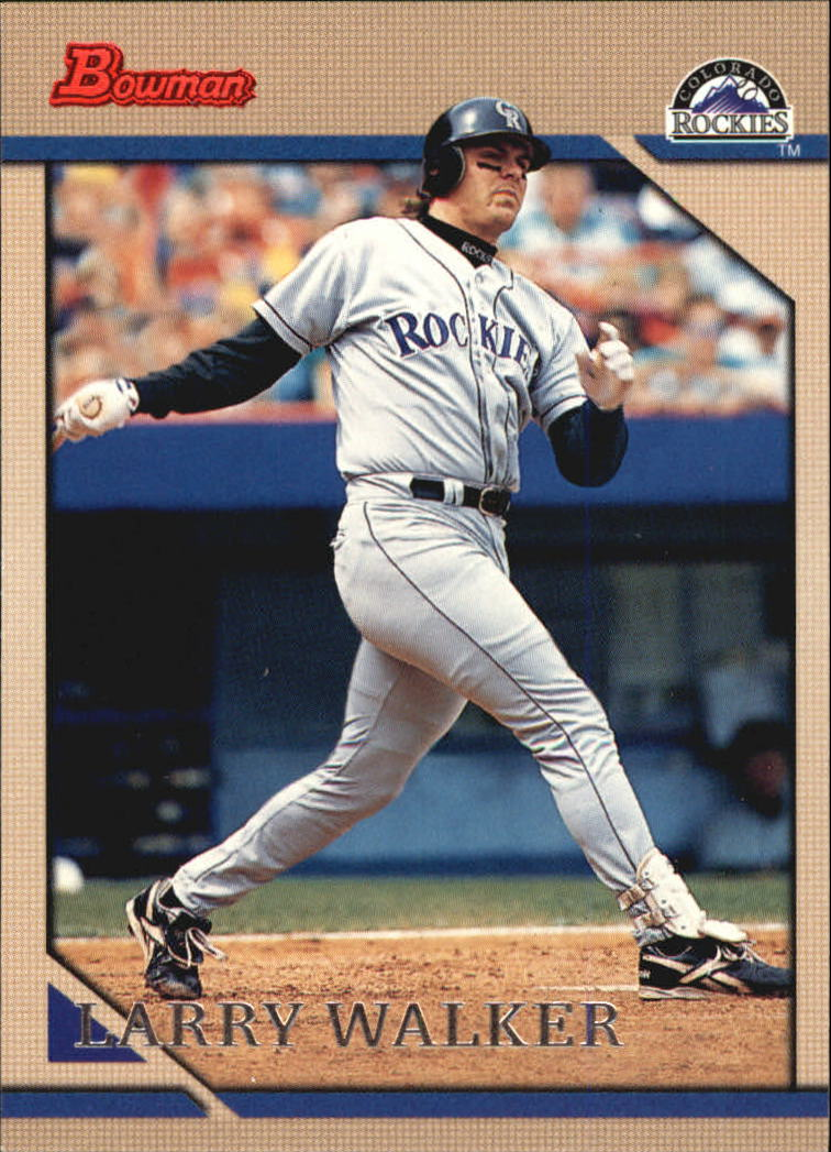 1996 Bowman #17 Larry Walker