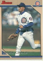 1996 Bowman #35 Mark Grace