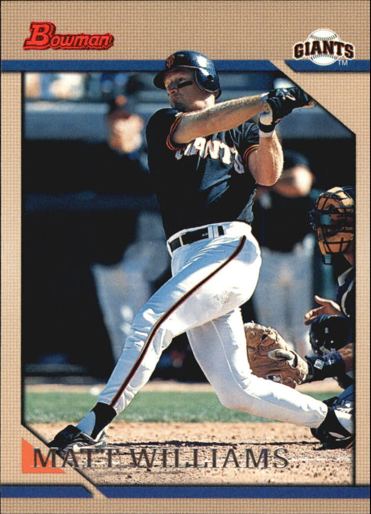 1996 Bowman #36 Matt Williams