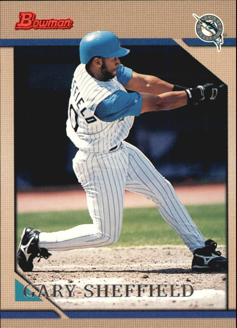 1996 Bowman #42 Gary Sheffield