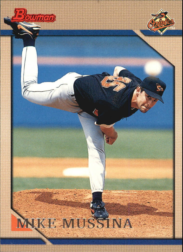 1996 Bowman #93 Mike Mussina
