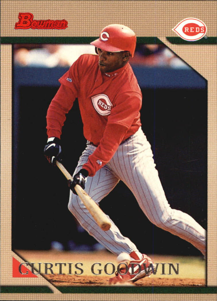 1996 Bowman #144 Curtis Goodwin