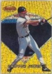 1996 Bowman's Best Previews Atomic Refractors #BBP1 Chipper Jones