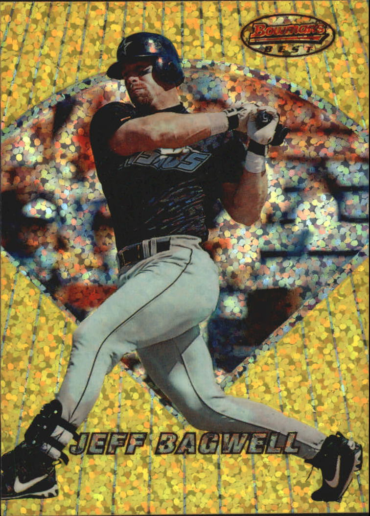 1996 Bowman's Best Previews Atomic Refractors #BBP16 Jeff Bagwell