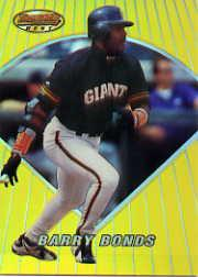 1996 Bowman's Best Previews Refractors #BBP4 Barry Bonds front image