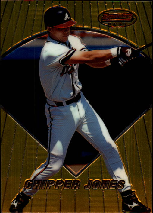 1996 Bowman's Best #7 Chipper Jones