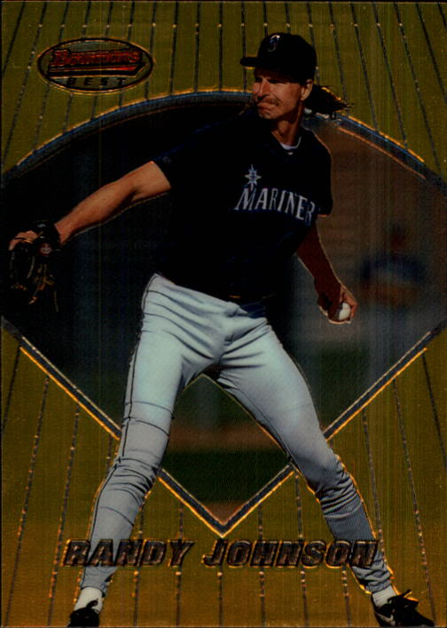 1996 Bowman's Best #21 Randy Johnson