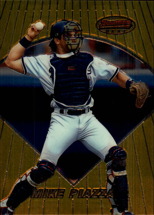 1996 Bowman's Best #26 Mike Piazza