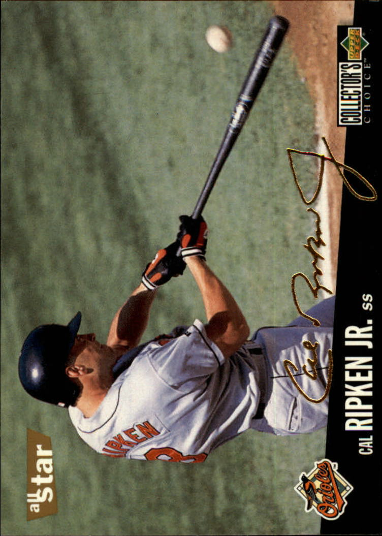 1996 Collector's Choice Gold Signature #1 Cal Ripken
