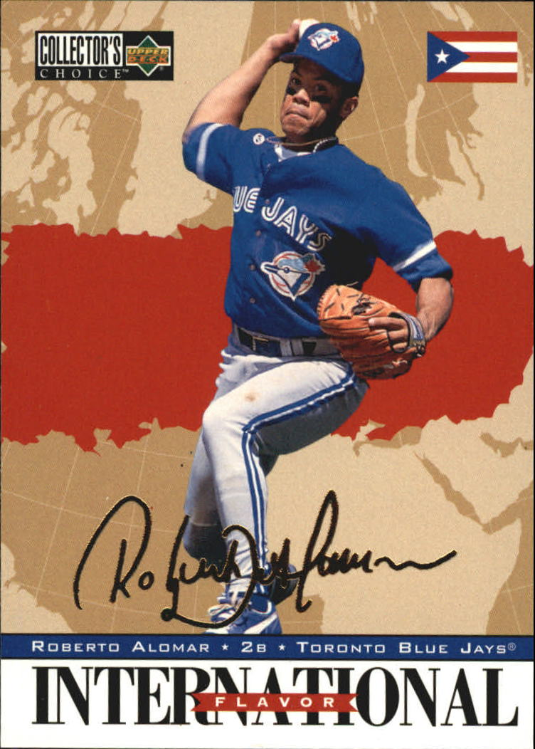 1996 Collector's Choice Gold Signature #339 Roberto Alomar IF