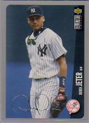 1996 Collector's Choice Silver Signature #231 Derek Jeter