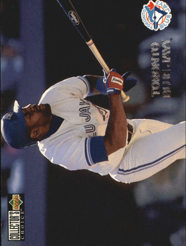 1996 Collector's Choice Silver Signature #423 Joe Carter TC