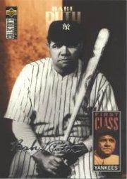 1996 Collector's Choice Silver Signature #500 Babe Ruth FC