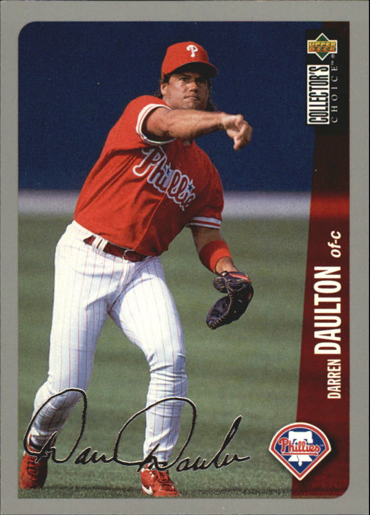1996 Collector's Choice Silver Signature #671 Darren Daulton