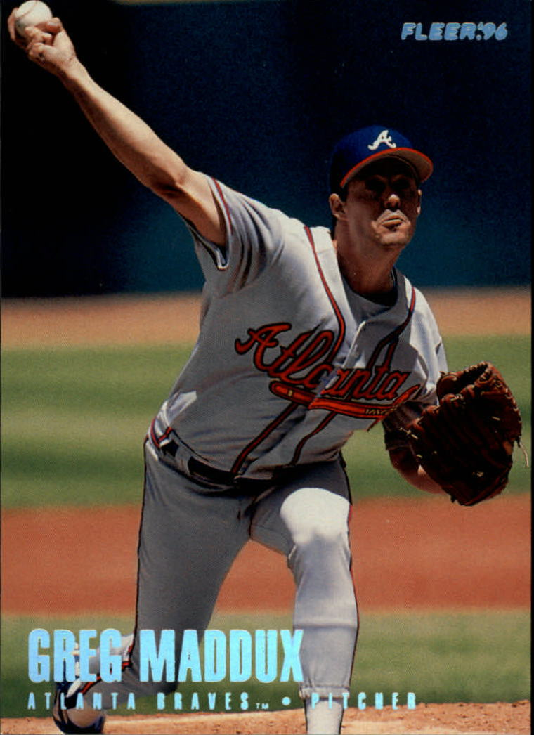 1996 Fleer Tiffany #299 Greg Maddux