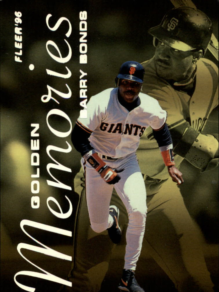 1996 Fleer Golden Memories #2 B.Bonds/S.Sosa