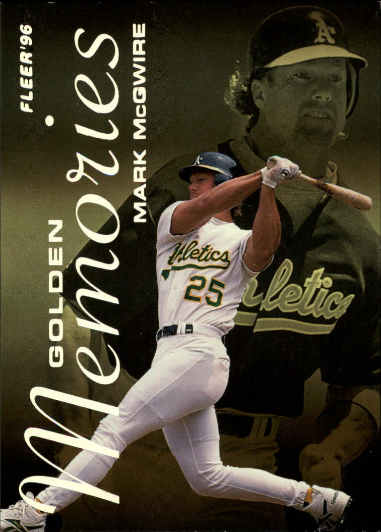 1996 Fleer Golden Memories #6 Mark McGwire