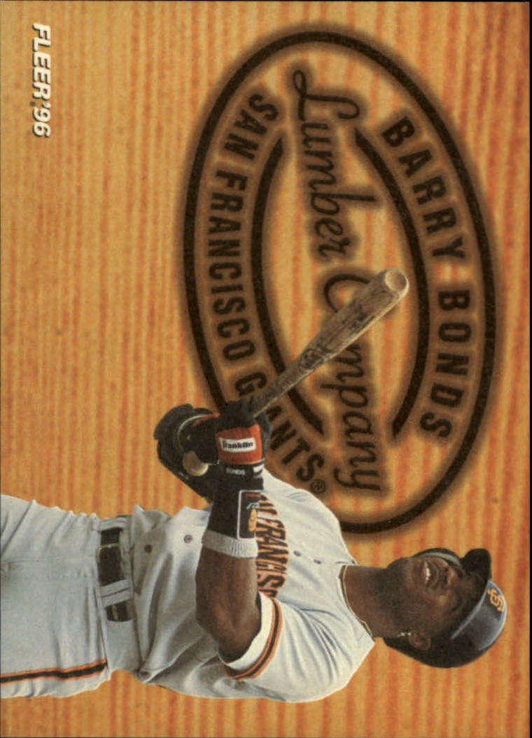 1996 Fleer Lumber Company #3 Barry Bonds