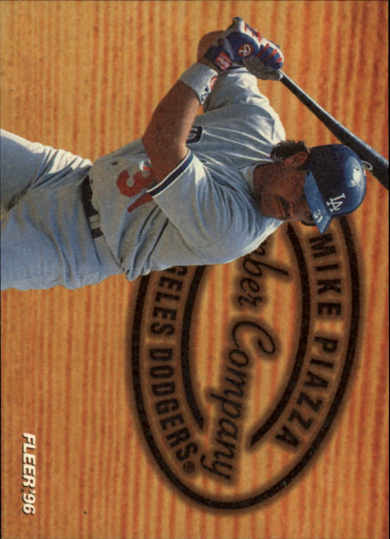 1996 Fleer Lumber Company #6 Mike Piazza