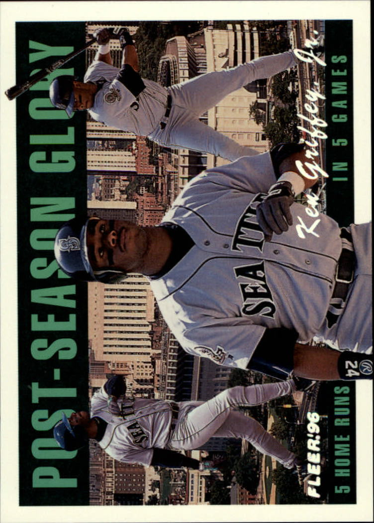1996 Fleer Postseason Glory #2 Ken Griffey Jr.