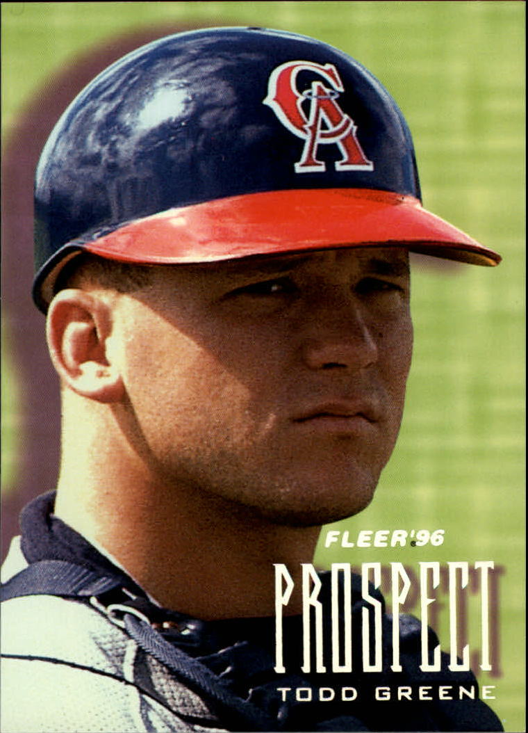 1996 Fleer Prospects #6 Todd Greene