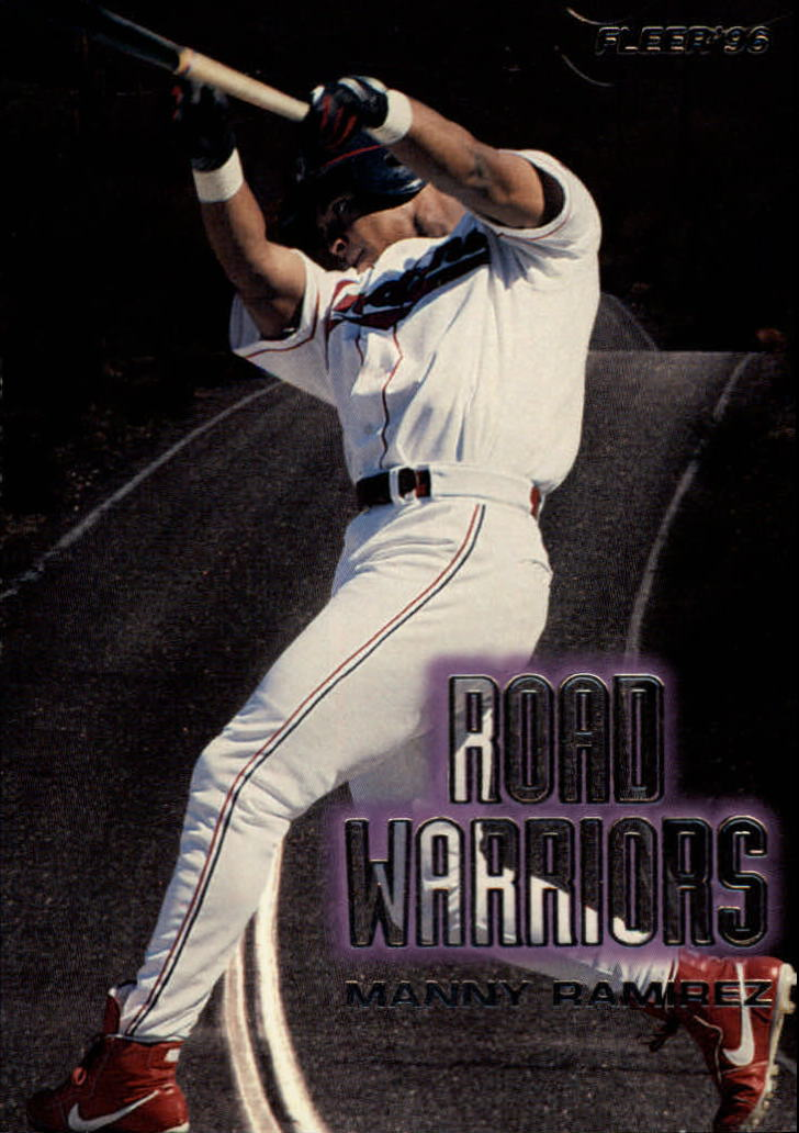 1996 Fleer Road Warriors #6 Manny Ramirez