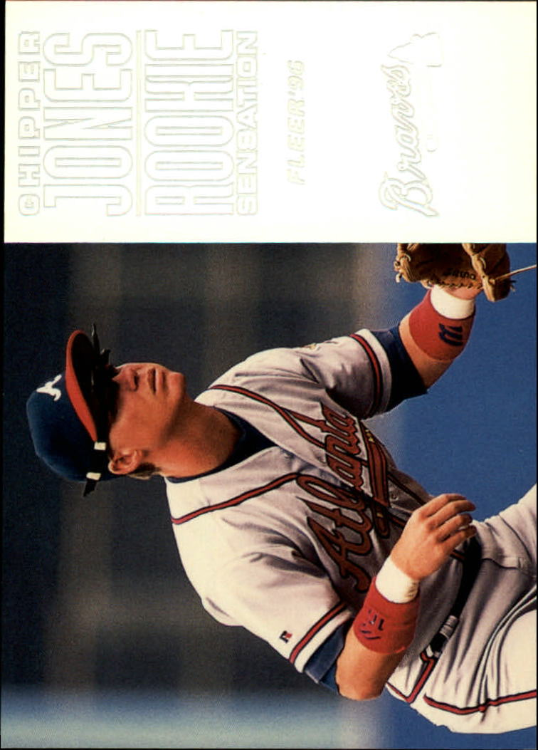 1996 Fleer Rookie Sensations #10 Chipper Jones